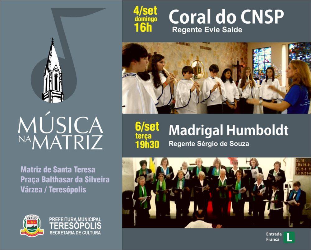 MUSICA NA MATRIZ 4 SETEMBRO CORAL COLEGIO N SRA PIEDADE