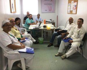 Profissionais da UPA de Teresópolis participam de mais um treinamento.