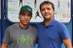 Luiz Otávio Oliveira, sec. de Esportes, recebe os organizadores da Copa Rio de Janeiro de Ciclismo e representantes da Guarda Municipal para acertar detalhes da prova.